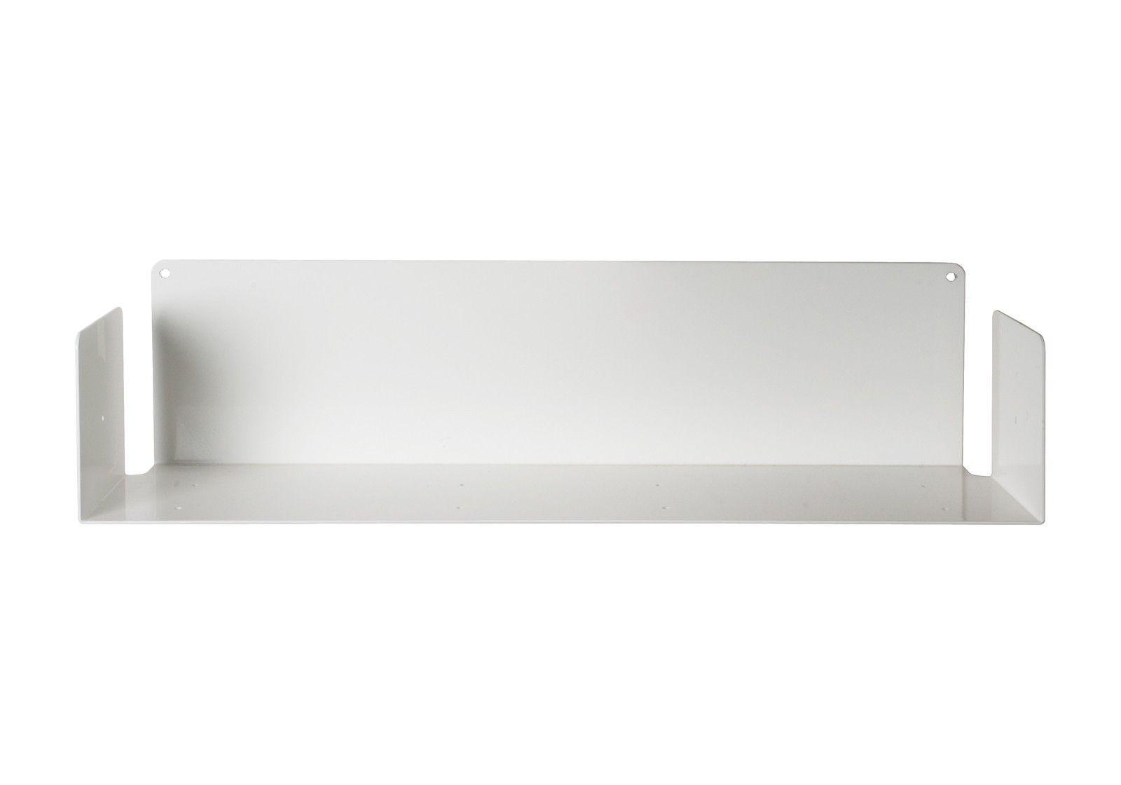 60 Cm CD Wall Shelf UCD White