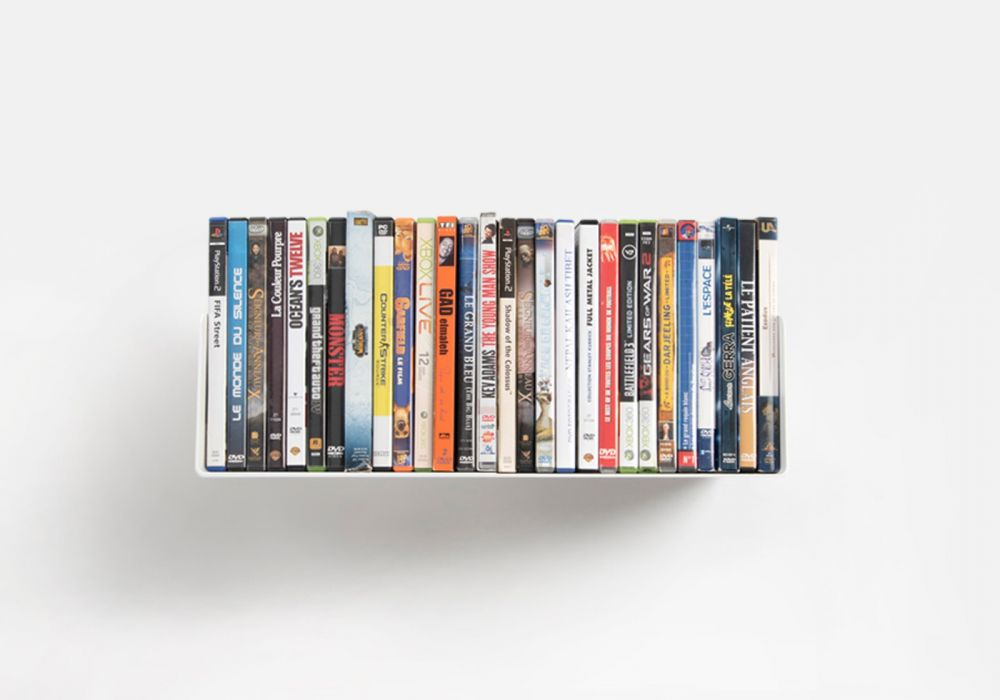 Dvd Wall Shelves - Interior Design 3d •