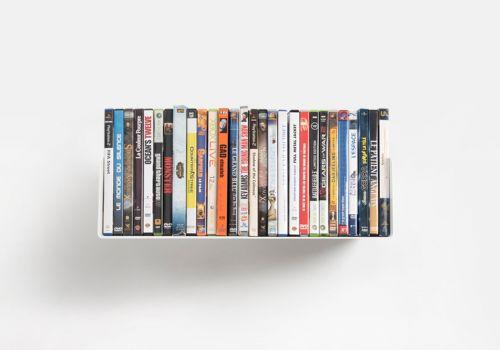 Etagère range DVD USDVD - 45 cm