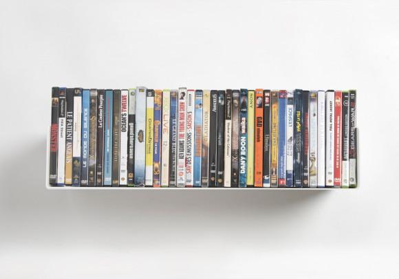 Mensola porta DVD - 60 cm - Acciao