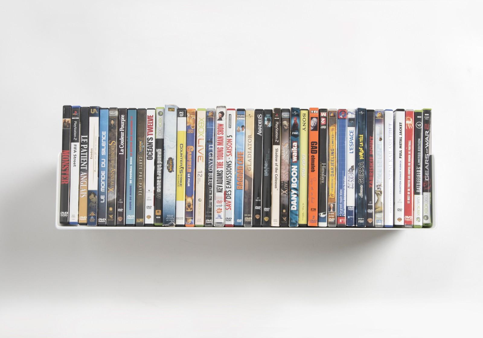 Mensole Da Parete Per Lettore Dvd : Mensole porta dvd set di cm acciao