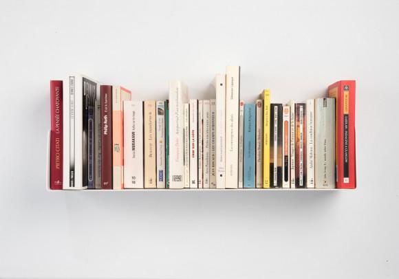 """U"" Bookshelf White"