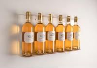 portabottiglie da cucina TEEwine - Set di 2 con vino bianco