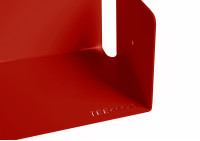 CD Wall Shelf  USCD detail 2 red