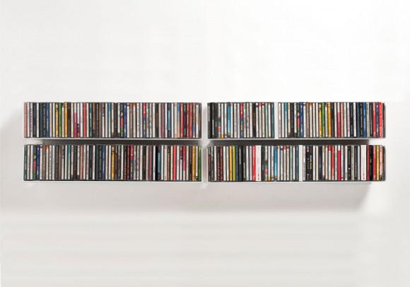 Set mit 4 UCD - CD-Regalen