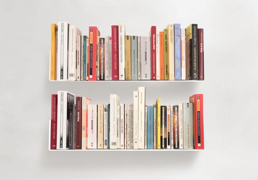Mensole Per Libri.Mensole Per Libri U Set Di 2 60 Cm Acciao