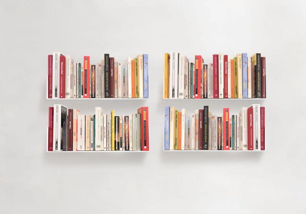 """Satz von 4 Bücherregale """"US"""""""
