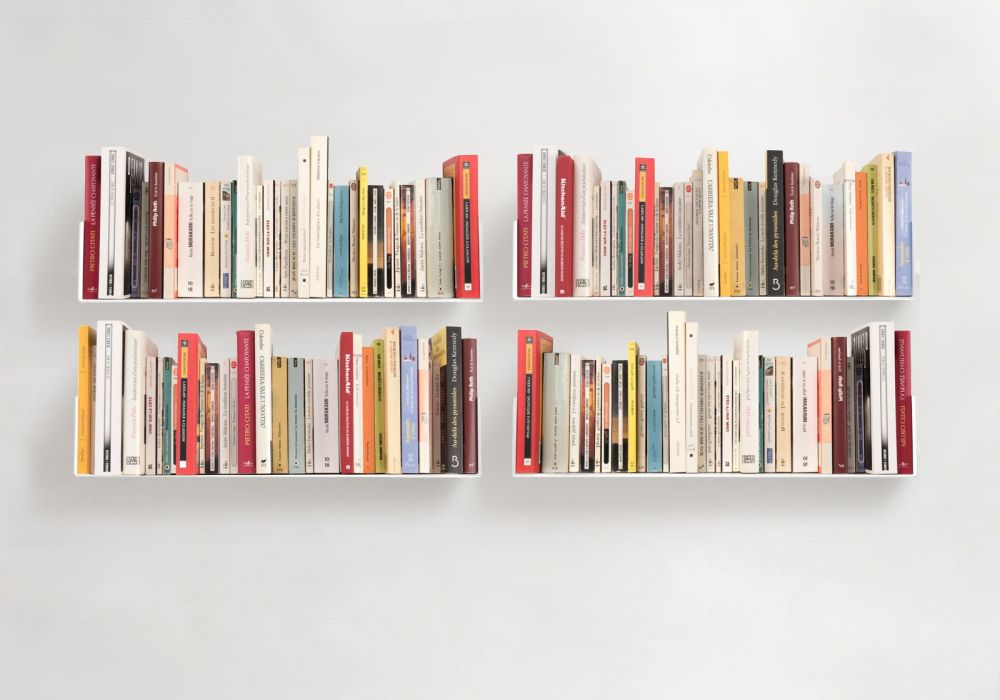 Buy Wall Bookshelf 60 x 15 cm - Set of 4