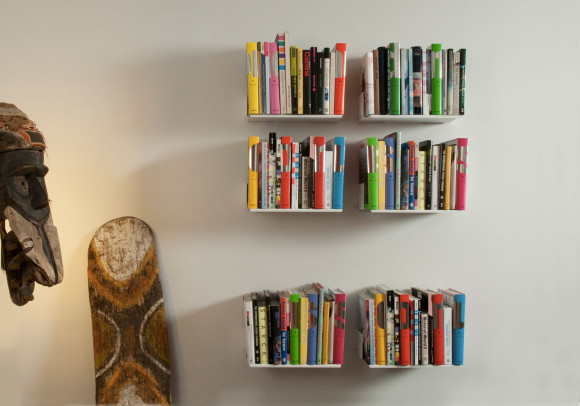 "Set of 6 Bookshelves design ""UBD"""