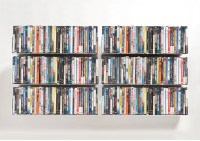 Set of 6 UDVD - DVD shelves