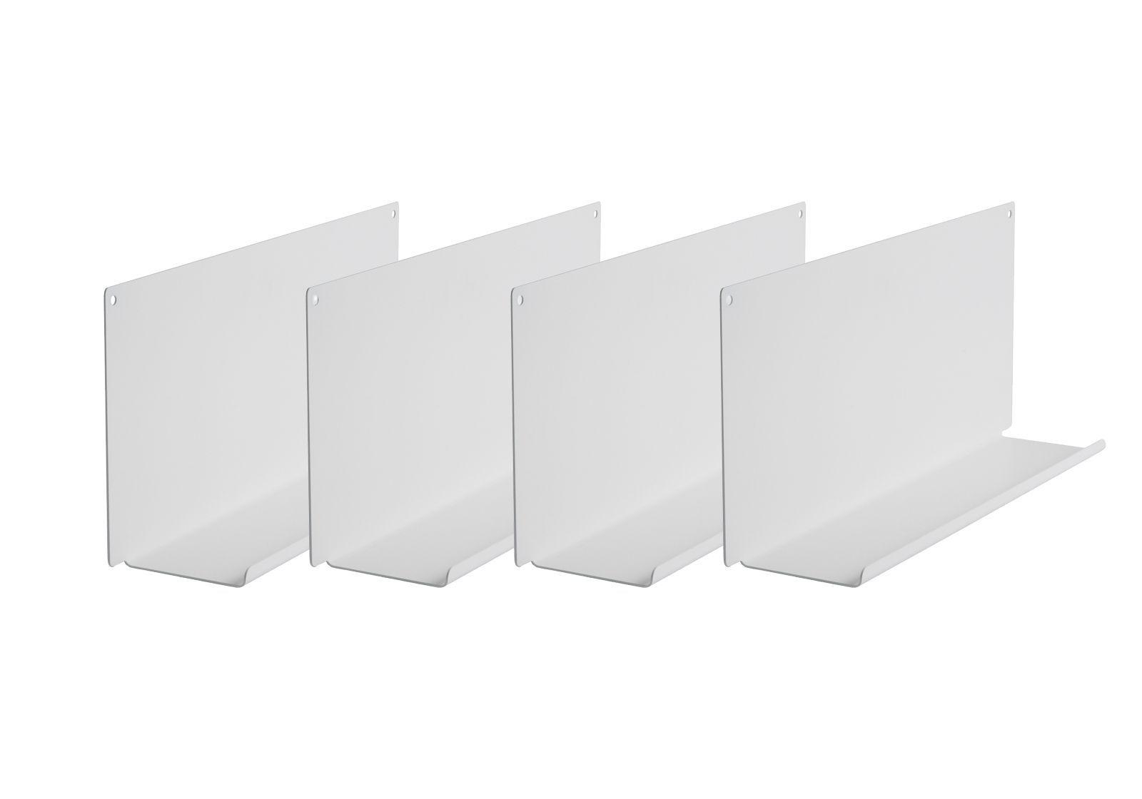 "Set of 4 Shelves for picture frames ""LE"""