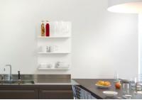 "Juego de 4 estantes de pared para cocina ""LE"""