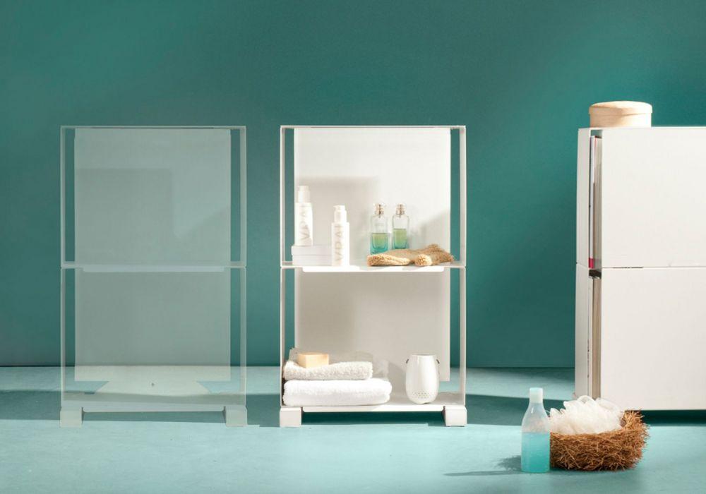 meuble de rangement 2vb - petit meuble design - teebooks - Petit Meuble De Rangement Design
