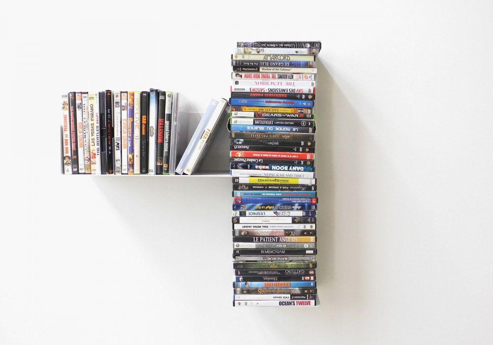 Mensole Da Parete Per Lettore Dvd : Mensola porta dvd mensole dvd teebooks