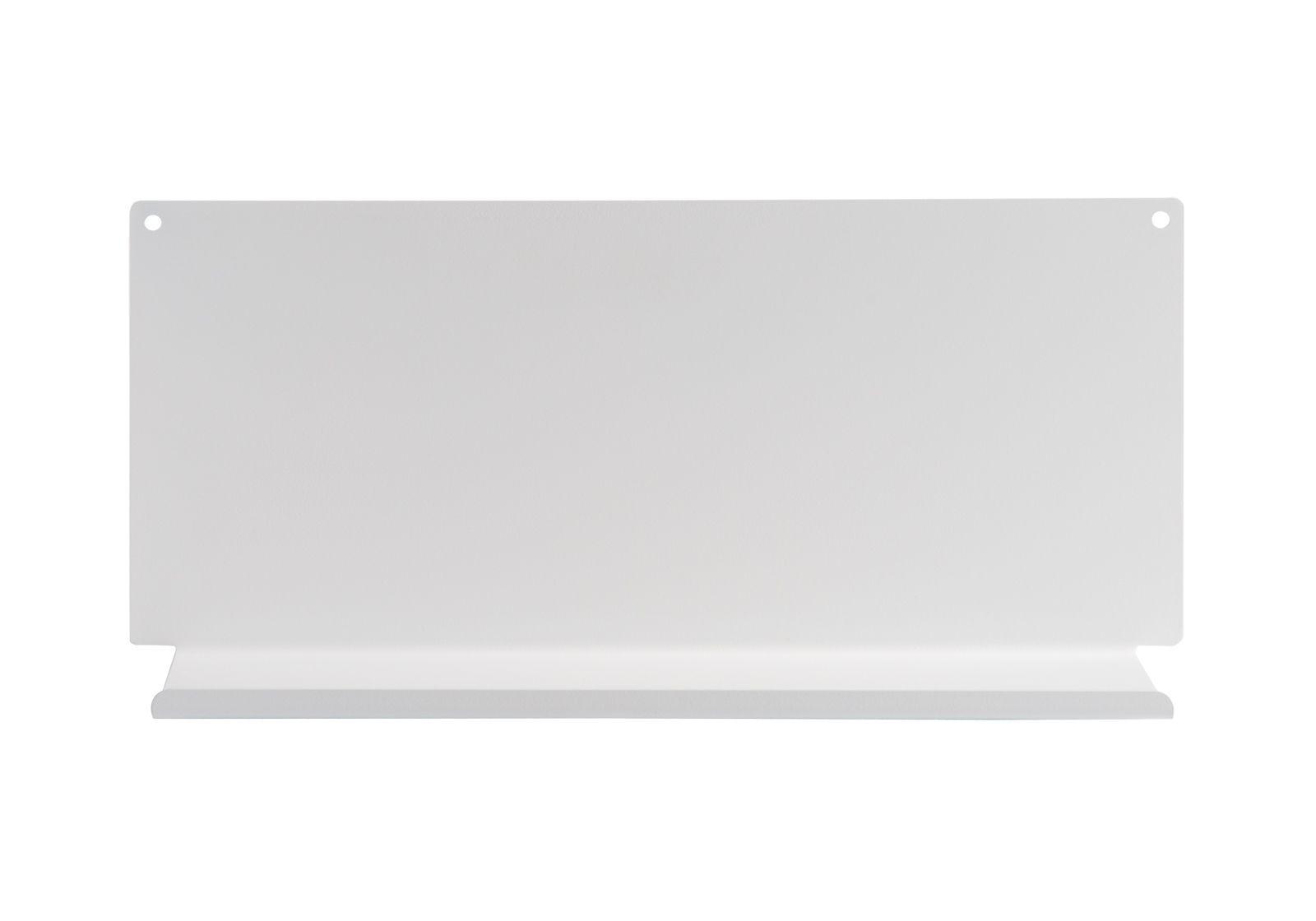 Tag re pour la cuisine le 45x10 cm acier blanc for Etagere murale profondeur 10 cm