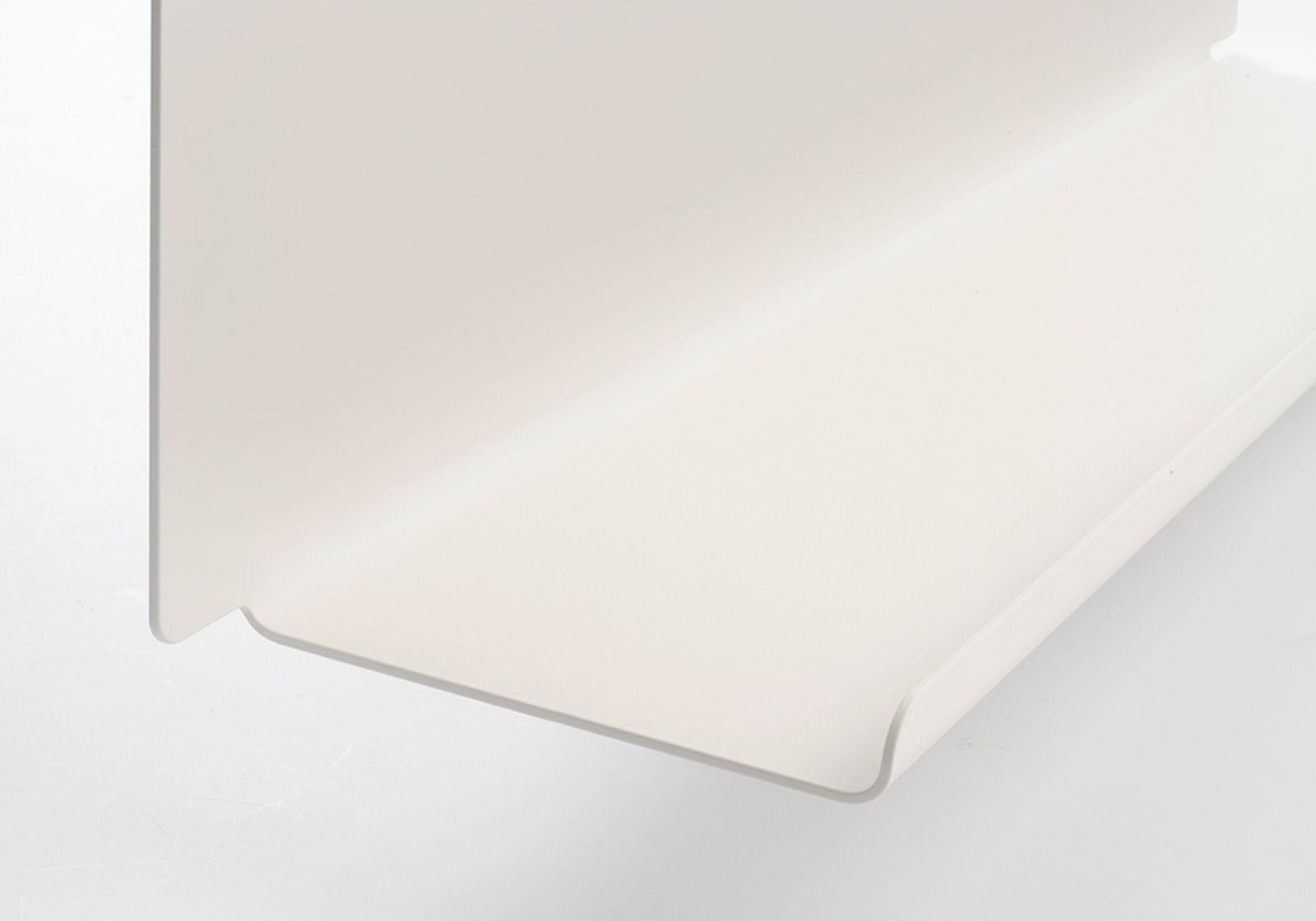 tag re pr sentoir pour vinyles le 45x10 cm acier blanc. Black Bedroom Furniture Sets. Home Design Ideas
