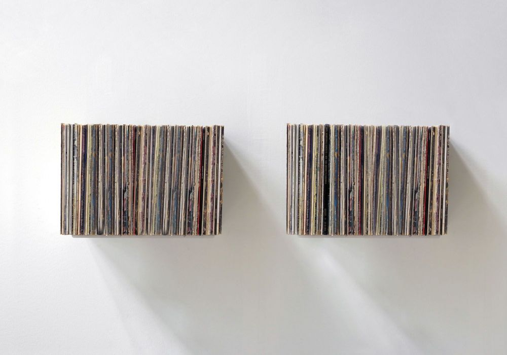 """UBD"" Record Storage Shelf  - Set of 2"