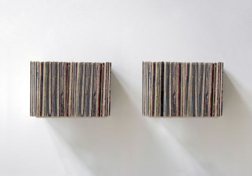 """UBD"" Record Storage Shelf  - Set of 2"