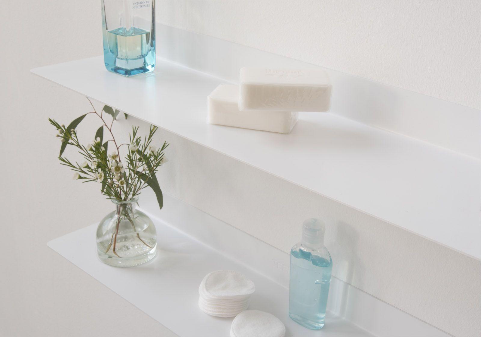 TEEline 4515 Bathroom shelves- Set of 2 - TEEbooks