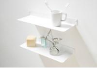 Étagère murale salle de bain TEEline 4515 - Lot de 2