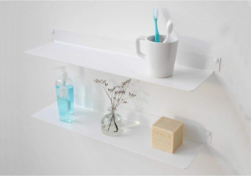 Bathroom shelves TEEline 6015 - Set of 2