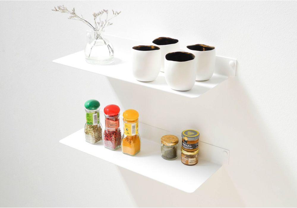 Estantes de pared para cocina TEEline 4515 - Juego de 2