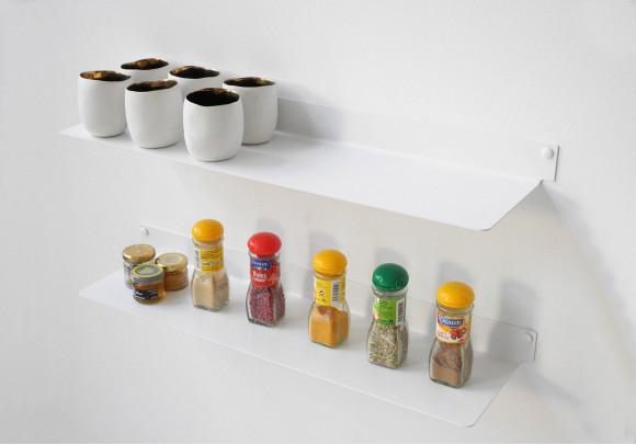 Estantes de pared para cocina TEEline 6015 - Juego de 2