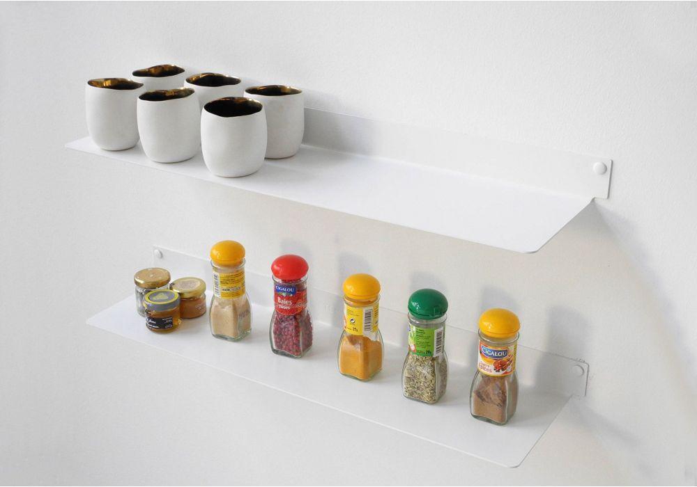 Mensole per cucina TEEline 45 cm - Set di 2 - Acciao