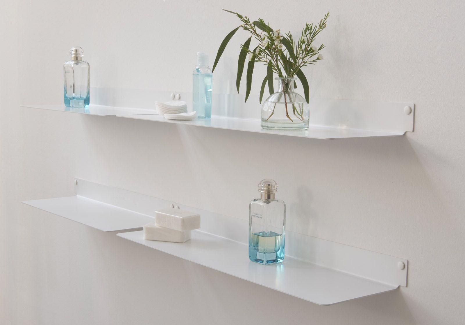 tag re salle de bain teeline 45 cm lot de 4 acier. Black Bedroom Furniture Sets. Home Design Ideas