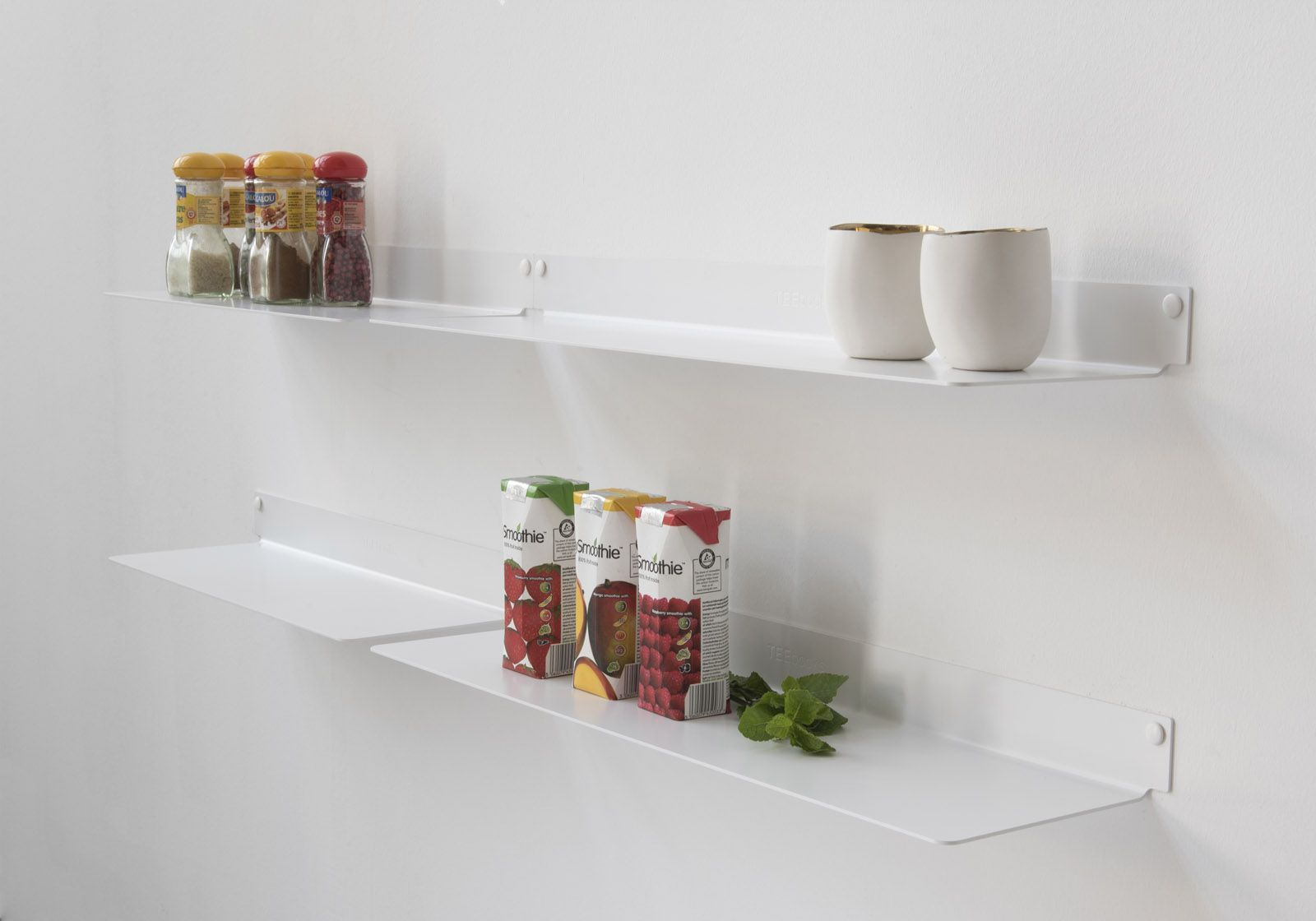 Kitchen Shelves Kitchen Shelves Teeline 4515 Set Of 4 Teebooks