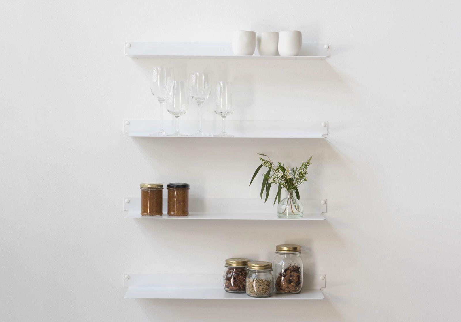 Mensole per cucina TEEline 60 cm - Set di 4 - Acciao