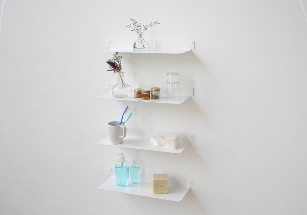 Bathroom shelves TEEline 4515 - Set of 4