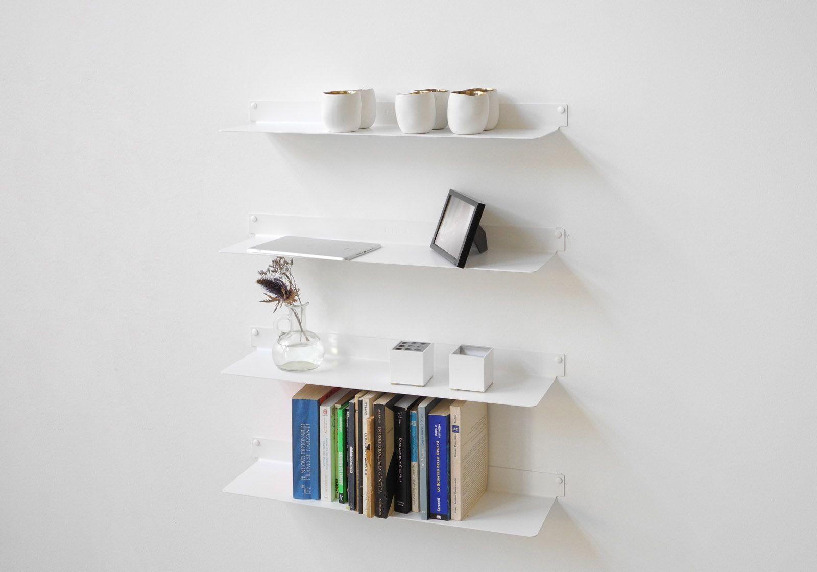 wall shelf teeline 6015 set of 4. Black Bedroom Furniture Sets. Home Design Ideas