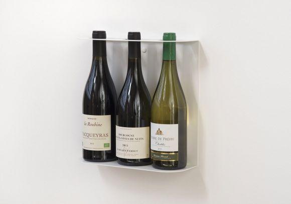 Portabottiglie TEEwine - 28x28 cm - Per contenere 3 bottiglie