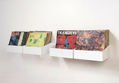"""TEEnyle"" Record Storage Shelf - Set of 4"