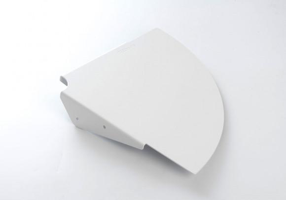 Étagères d'angle TEEgolo - 36 cm - Lot de 2 - Acier