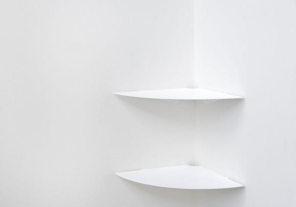 Eck Küchenregal TEEgolo 36 cm - Set mit 2 - Stahl