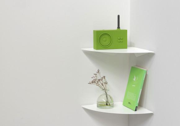 Corner shelf TEEgolo 24cm - Set of 2 Shelves