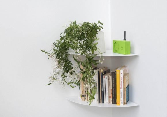 Corner shelf TEEgolo 36 cm - Set of 2 shelves
