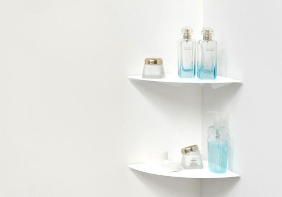 Estante para el cuarto de baño TEEgolo 24cm - Juego de 2