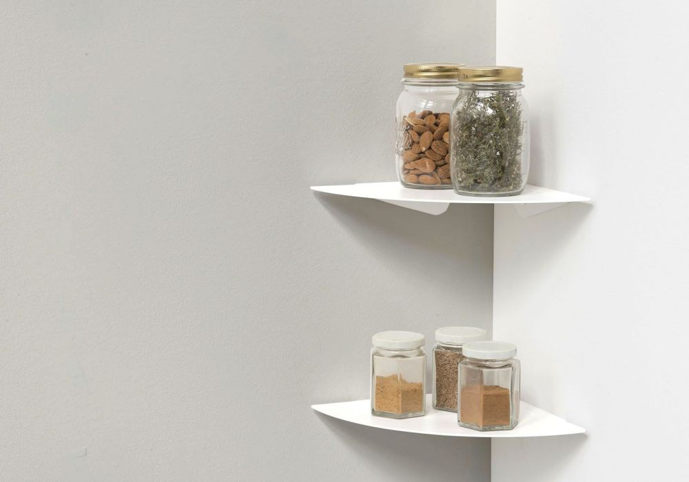 Kitchen shelf TEEgolo 24cm - Set of 2