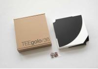 Mensola angolare TEEgolo 36 cm - Set di 2
