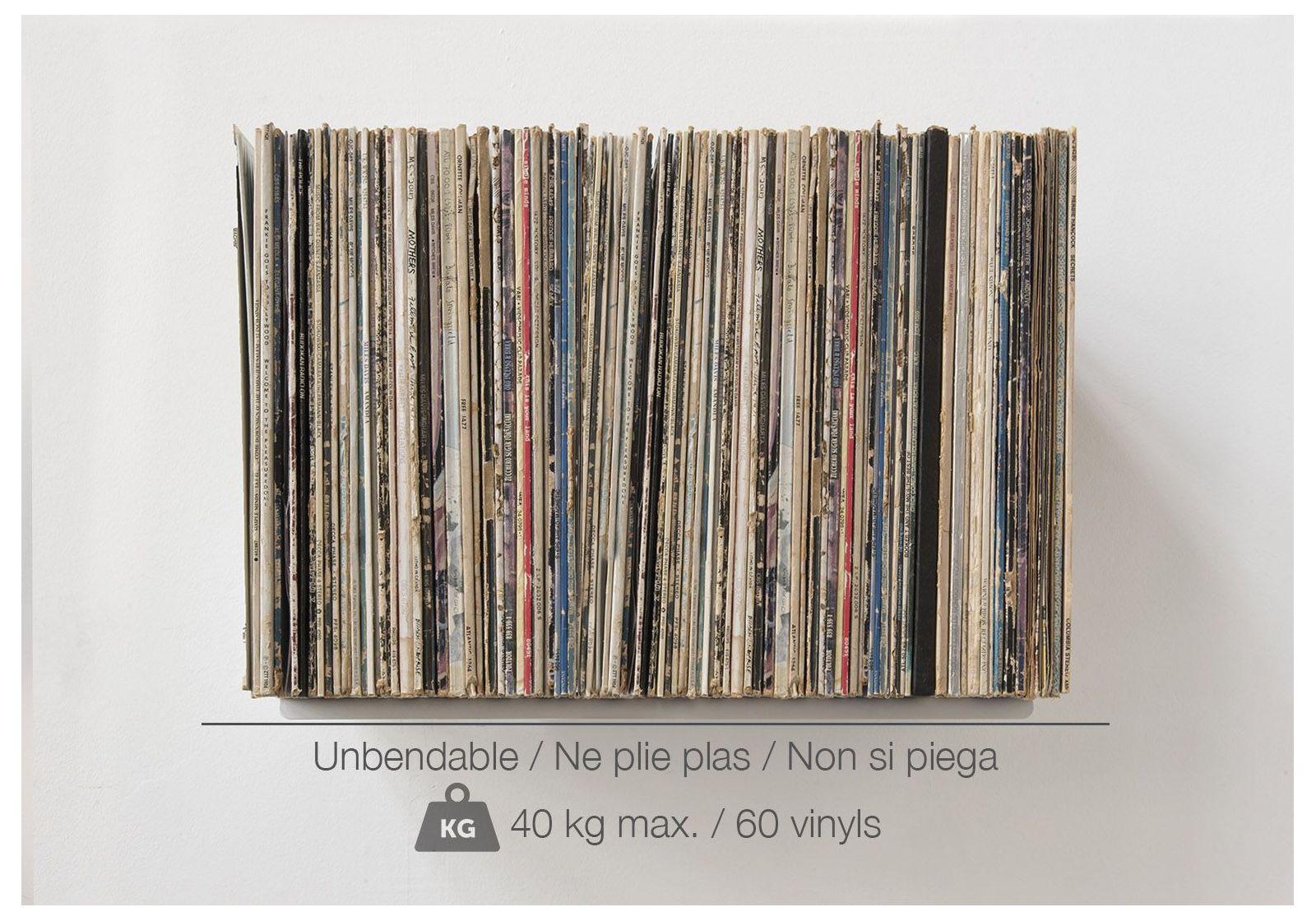 schallplattenregal ubd set aus 2 regalen 60 70. Black Bedroom Furniture Sets. Home Design Ideas