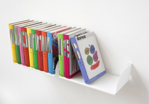 Wall Bookshelf 45 x 25 cm - Set of 2