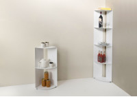 Eck Küchenregal DANgolo - Stalh - 25x25x70cm