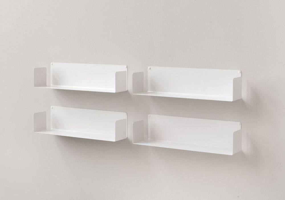 """Floating shelves """"U"""" - Set of 4"""