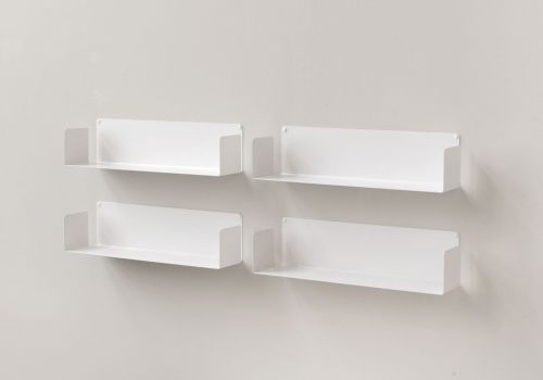 "Set of 4 wall shelves ""U"""