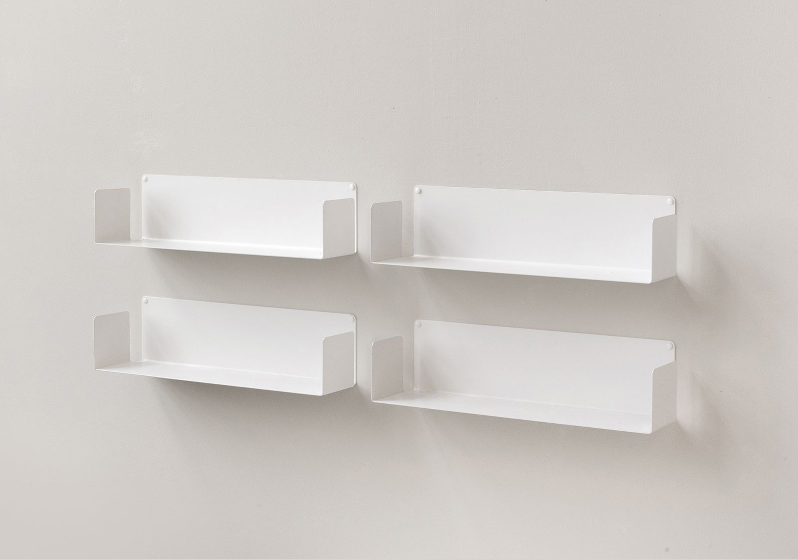 252 floating shelves u 60 cm set of 4