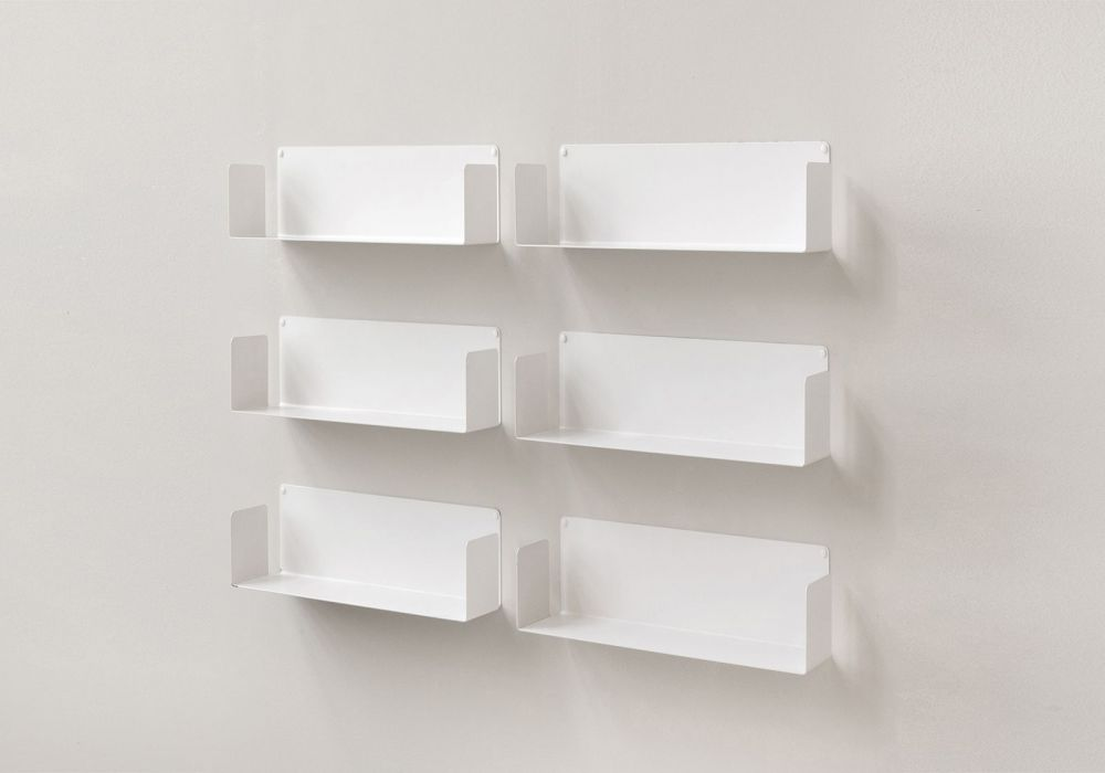 "Floating shelves ""US"" - Set of 6"