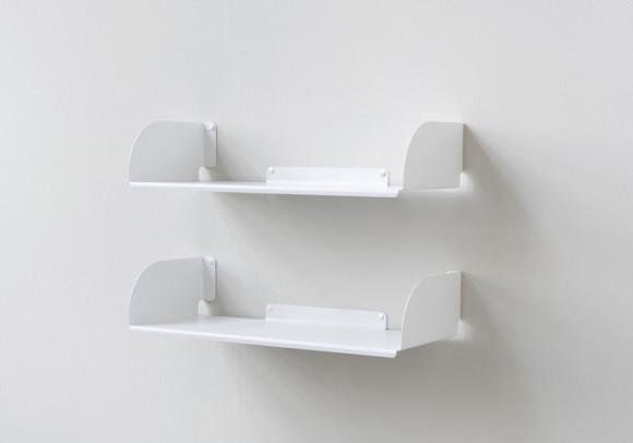 """Estantes de pared """"UBD"""" - Juego de 2 - 60 cm"""